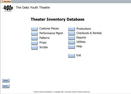 database inventory